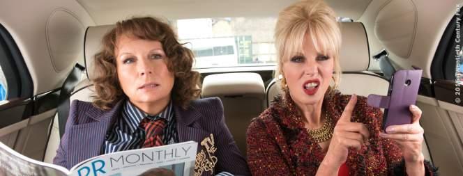 Jennifer Saunders und Joanna Lumley in Absolutely Fabulous