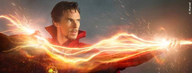 Benedict Cumberbatch als Marvels Doctor Strange