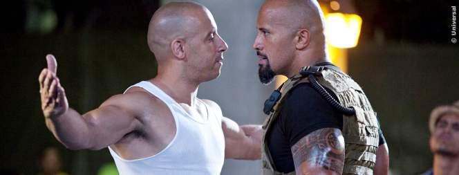 Vin Diesel und Dwayne Johnson streiten gern mal