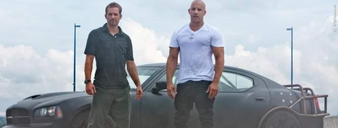 Paul Walker und Vin Diesel in Fast And Furious