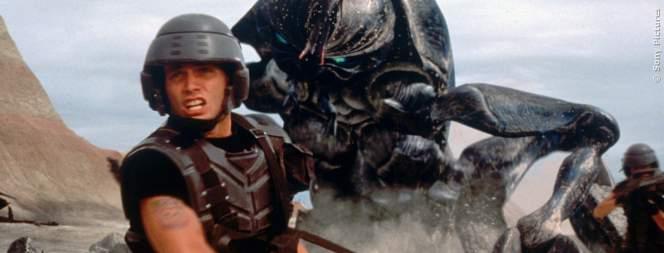 Casper Van Dien im Sci-Fi Actioner Starship Troopers