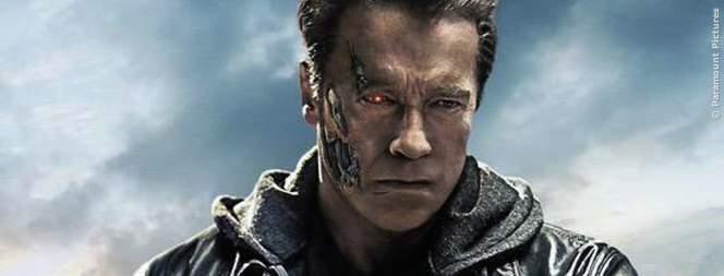 Arnold Schwarzenegger ist der Terminator