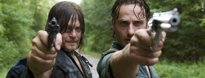 Dary und Rick in The Walking Dead