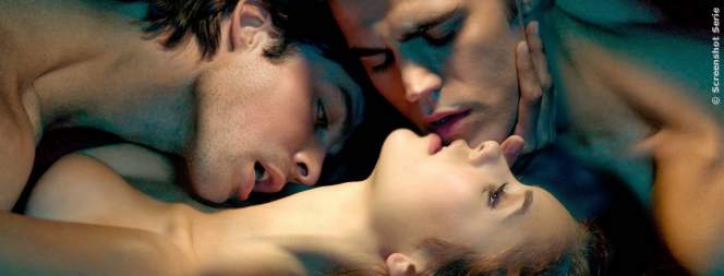Die drei Vampire aus The Vampire Diaries