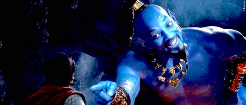 Aladdin 2 mit Will Smith in Arbeit