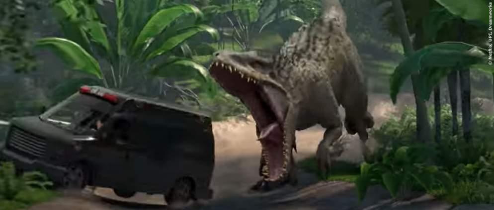 Netflix zeigt den Trailer zur Jurassic World Serie