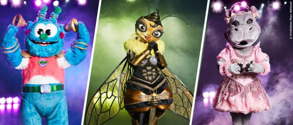 The Masked Singer: Das sind die Masken in Staffel 3