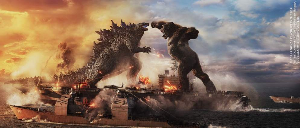 Godzilla Vs Kong: Größter Blockbuster des Jahres