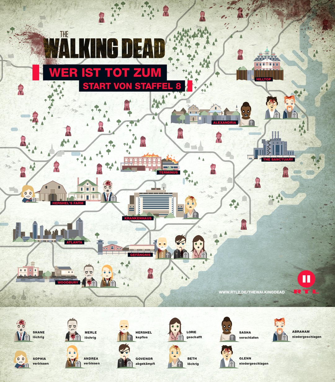 The Walking Dead: Best of 99 Folgen im Video - Bild 1 von 1